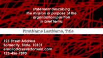 Generic business card2 cv