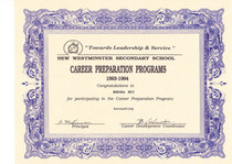 Career prep award cv