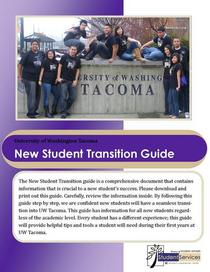 New student transition guide 2009 10 cv