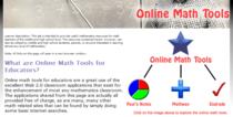 Online math tools image cv