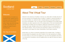 Virtual tour of scotland image cv