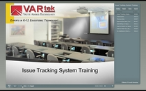 Issue tracking system training thumbnail cv