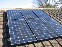Solar panel cv