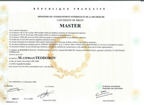 Diplome m2r cv