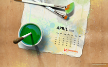 April 10 splatter calendar 1440x900 cv