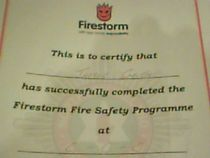 Firestorm safety program cv