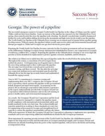 Mcc successstory georgia pipeline cv