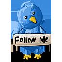 Twitter follow me cv