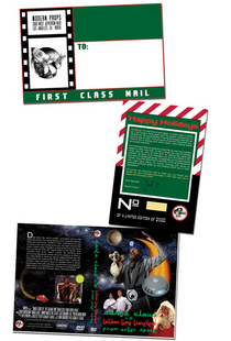 Title edition card for dvd cv
