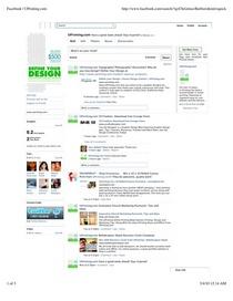 Facebook uprinting.com cv