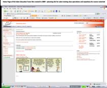 Site screen shot cv