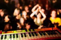 Piano keyboard rock band cv