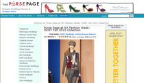 Pursepage fashion week coverage cv