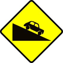 11970959511183595657leomarc caution steep hill up svg med cv