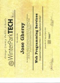 Diplomas ocp c front cv