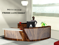 Reception desk cv