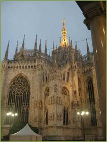 Milan cathedral cv