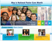 Foster care month site cv