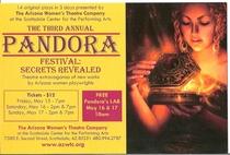 Pandora postcard cv