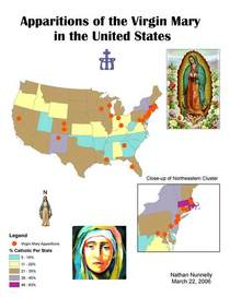 Virgin mary map cv