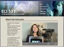 Instructor video cv