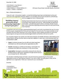 Annual appeal 09 letter cv