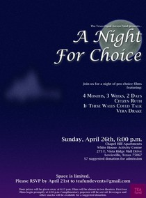 Night for choice flyer cv