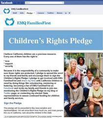 Facebook pledge cv