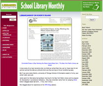 School library monthly cv
