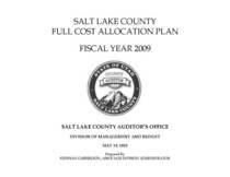 Full cost plan coversheet cv