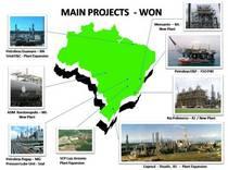 Main projects won cv