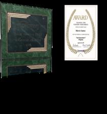 Awards certification cv