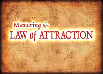 Mastering the law of attraction logo cv