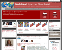 Synergies alpha portal home page cv