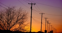 Sunsets and powerlines cv
