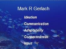Mark gerlach strengths chart cv