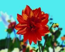 Flower 02 cv