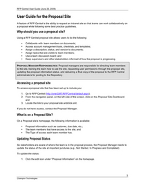 User guide for proposal site july 8 2009 final  cv