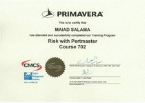 Pertmaster training cv