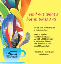 Glass art expo ad cv