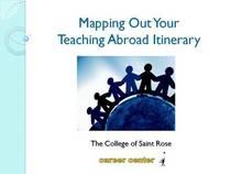 Teach abroad presentation cv