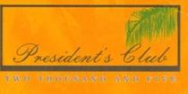 President s club logo cv
