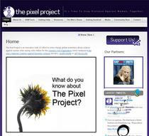 Pixel project website cv