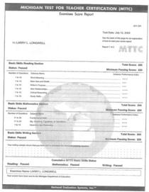 Mttc results 1 cv