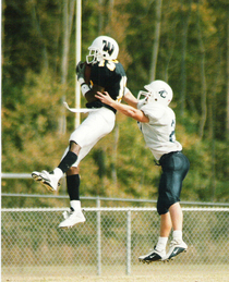 Football catch cv