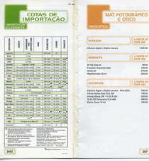 Brasif price list ii cv