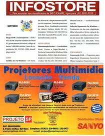 Sanyo projetores exame iii  cv
