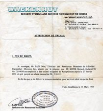 Wackenhut french1089 cv