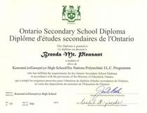 High school diploma cv