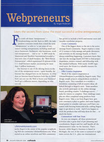 Craftrends jan08 pg30 webpreneurs cv